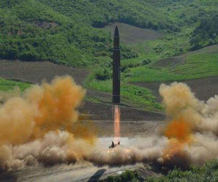 North Korea test-fires improved ballistic missile
