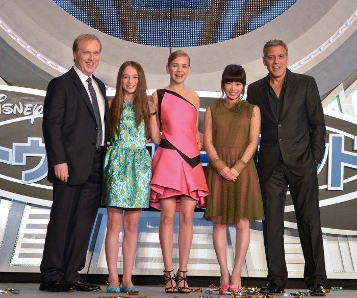 'Tomorrowland' premiere in Tokyo