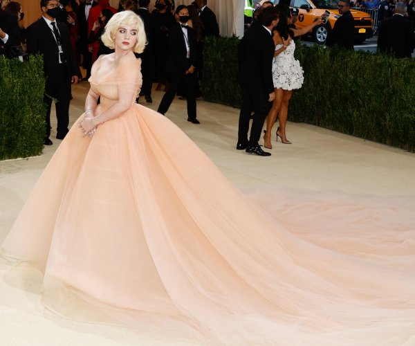 Moments from the 2021 Met Gala red carpet