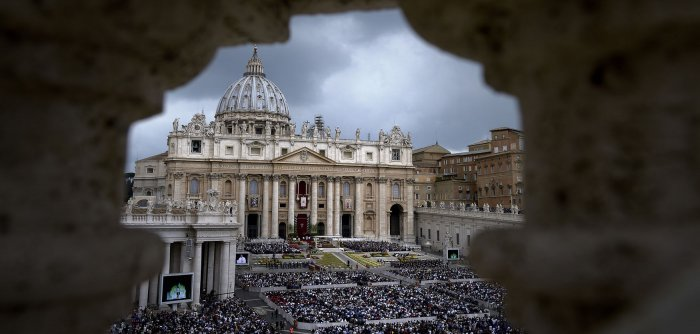 Pope Francis leads Easter Mass in Vatican City