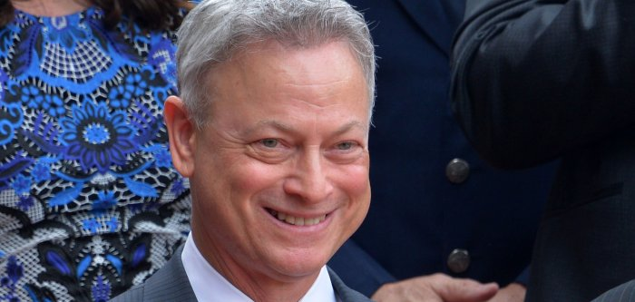 Gary Sinise honored with a star on the Hollywood Walk of Fame