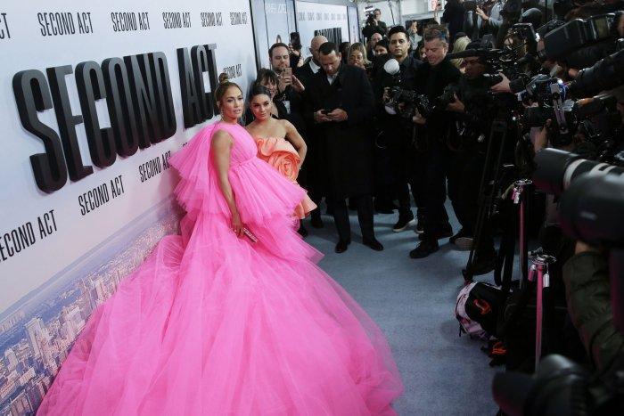 Jennifer Lopez, Vanessa Hudgens attend 'Second Act' premiere