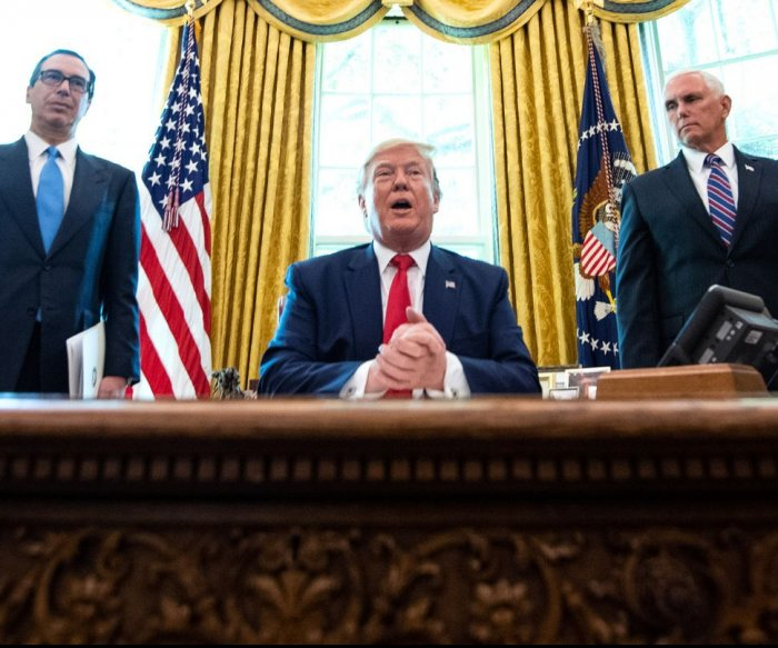 Trump to Iran: Any U.S. attack will draw 'overwhelming' force