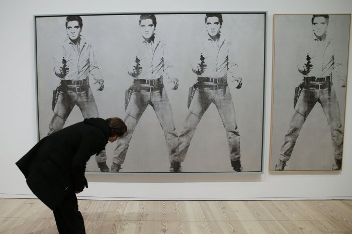 'Andy Warhol - From A to B and Back Again' preview at the Whitney Museum