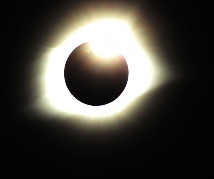 Police: 1 dead after woman crashed into eclipse watchers