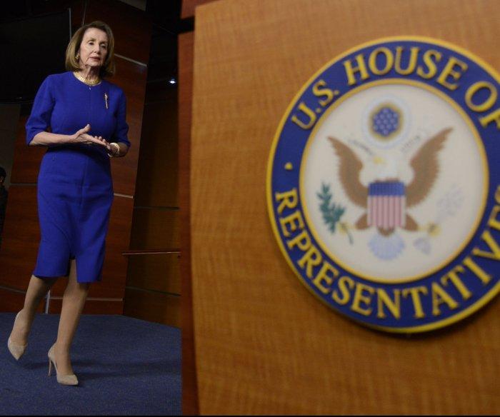 Nancy Pelosi urges resolution to end border 'emergency'
