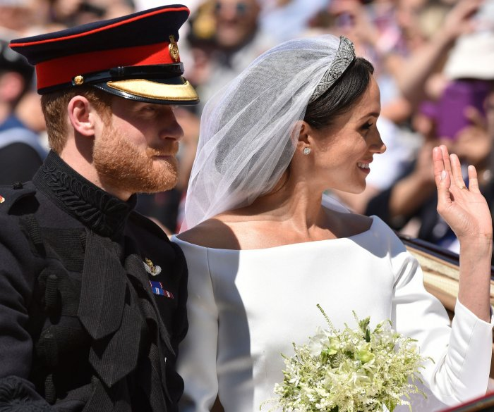Moments from the royal wedding