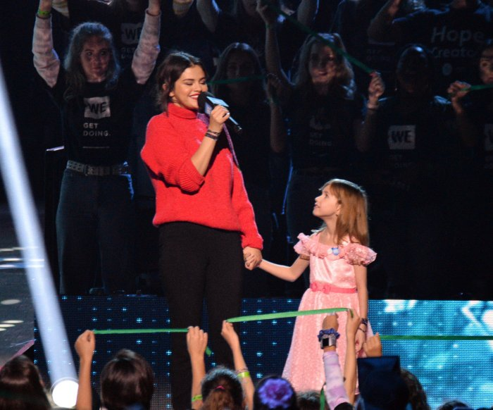 Selena Gomez, Jennifer Aniston attend WE Day California