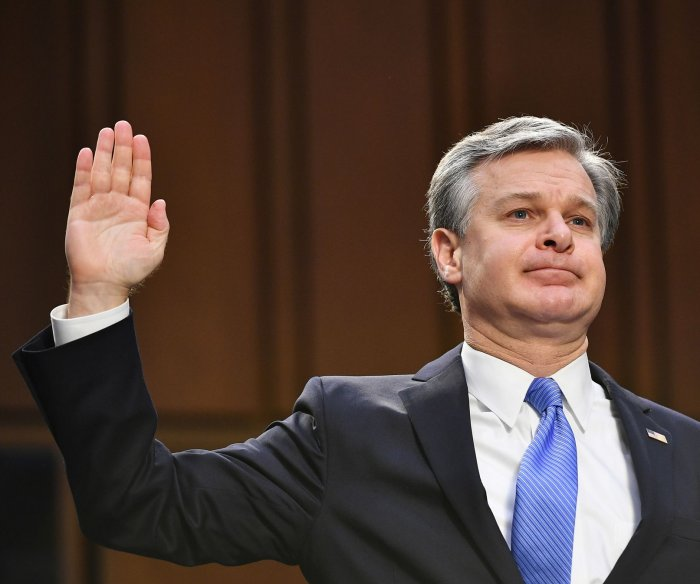 Wray: Social media was one of the catalysts for Jan. 6 attack