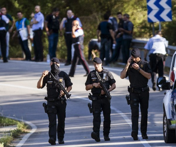 Prime suspect in Barcelona van attack shot dead by police