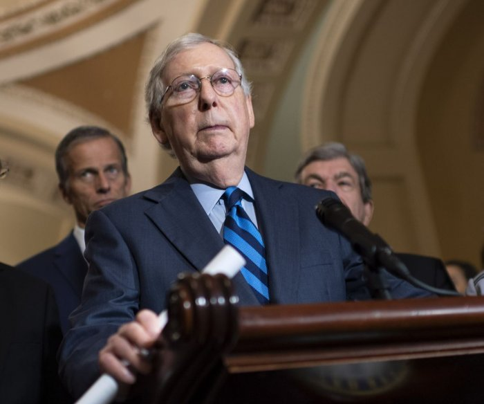 McConnell introduces resolution opposing Syria withdrawal