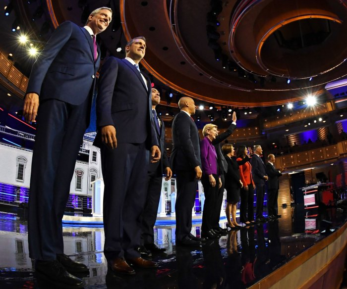 CNN announces lineups for second round of Democratic debates