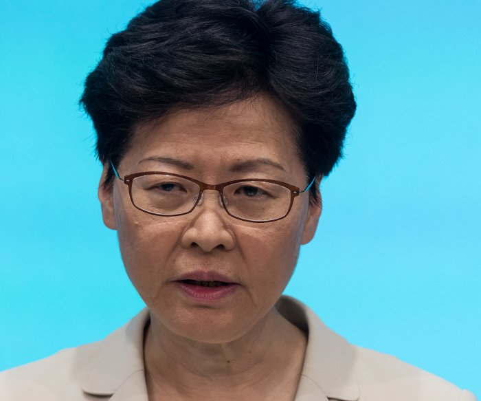Hong Kong leader offers 'most sincere apology' after protests