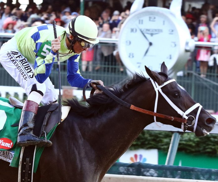 Photos from the 143rd Kentucky Derby
