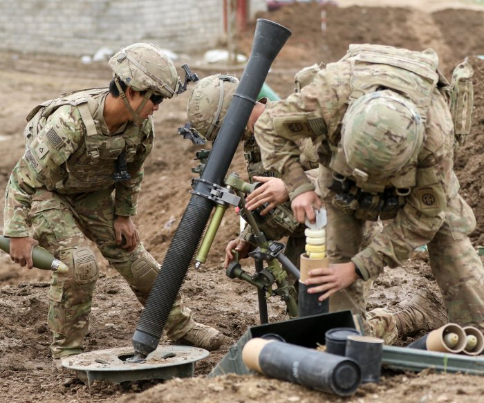 CENTCOM: More U.S. artillery troops may be needed in Raqqa