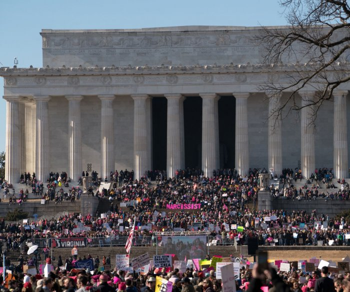 Activists take to the streets for second Women's March