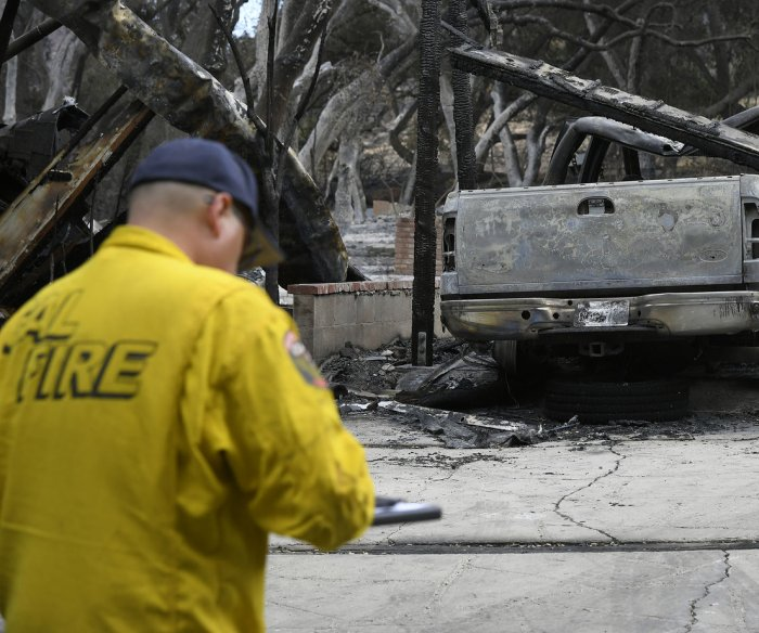 Death toll from California wildfires rises to 59 as crews gain control