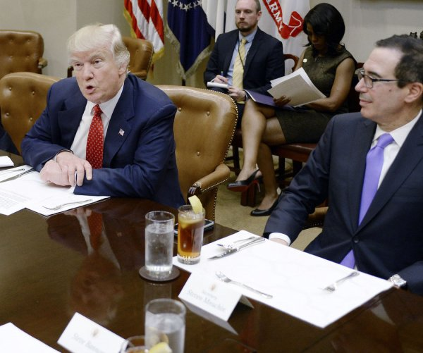 Trump meets with budget advisers: 'No more wasted money'