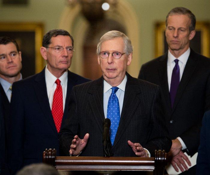 McConnell: Senate to vote on shutdown bill Thursday
