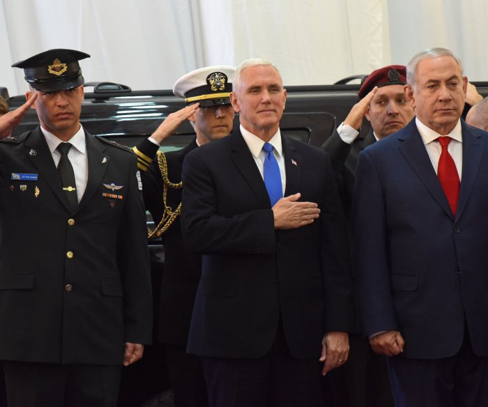 Highlights from Vice President Mike Pence's trip to Israel