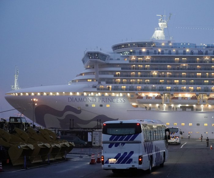 Coronavirus: Cruise ship evacuations begin; death toll rises to 1,670