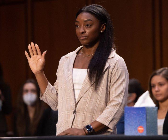 Olympic gymnasts testify in Senate on Larry Nassar case
