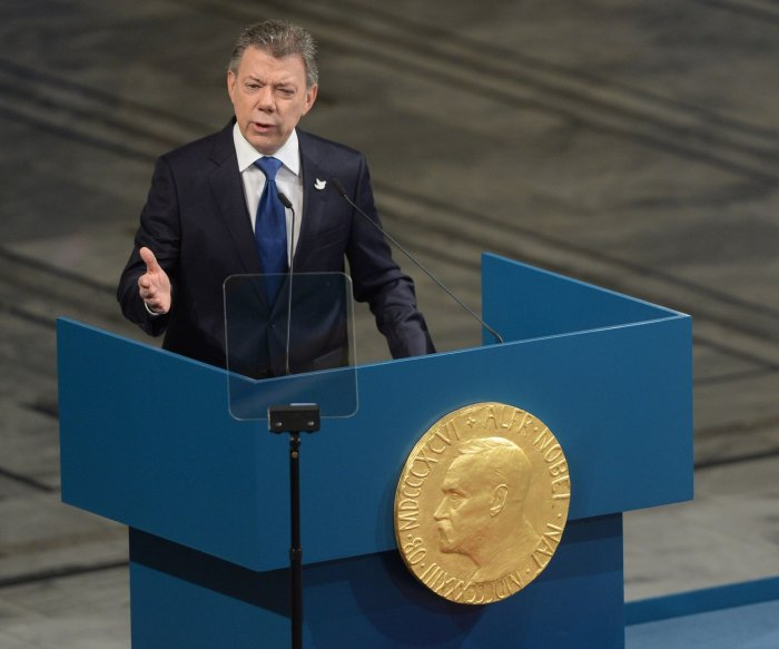 Highlights from the Nobel Peace Prize ceremony in Oslo
