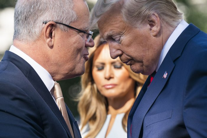 Australian Prime Minister Scott Morrison visits White House