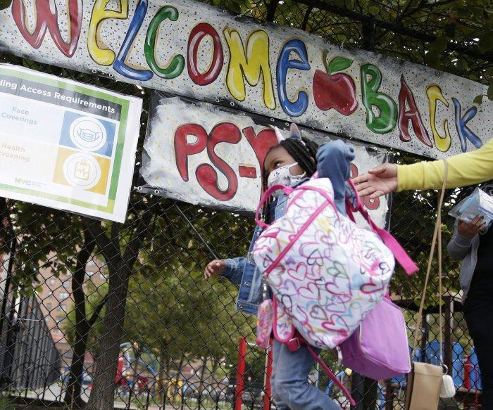 Schools begin to reopen in NYC