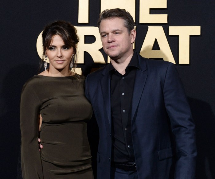 Matt Damon, Willem Dafoe attend 'The Great Wall' premiere in Los Angeles