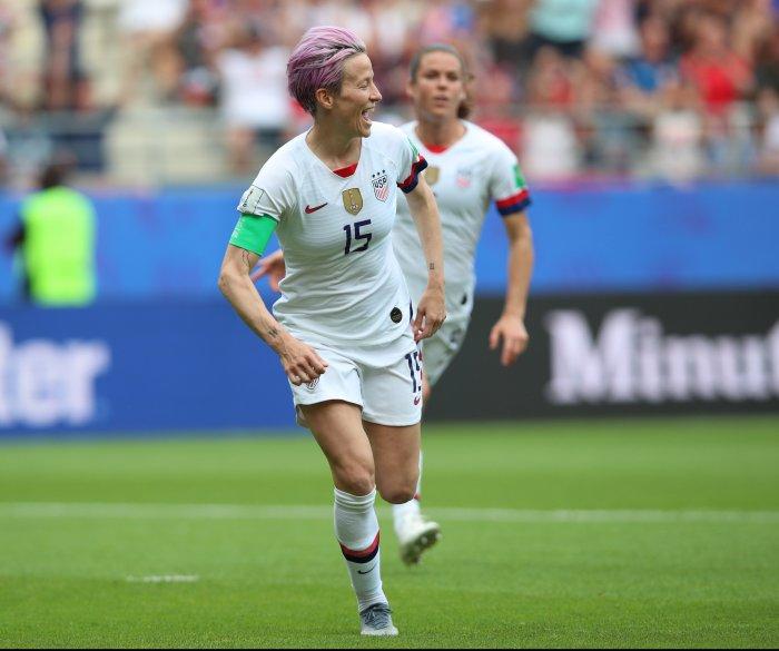 Women's World Cup: U.S. defeats Spain 2-1 to reach quarterfinals