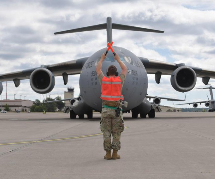 Air Force's NPC completes first operation, moving 12 COVID-19 patients