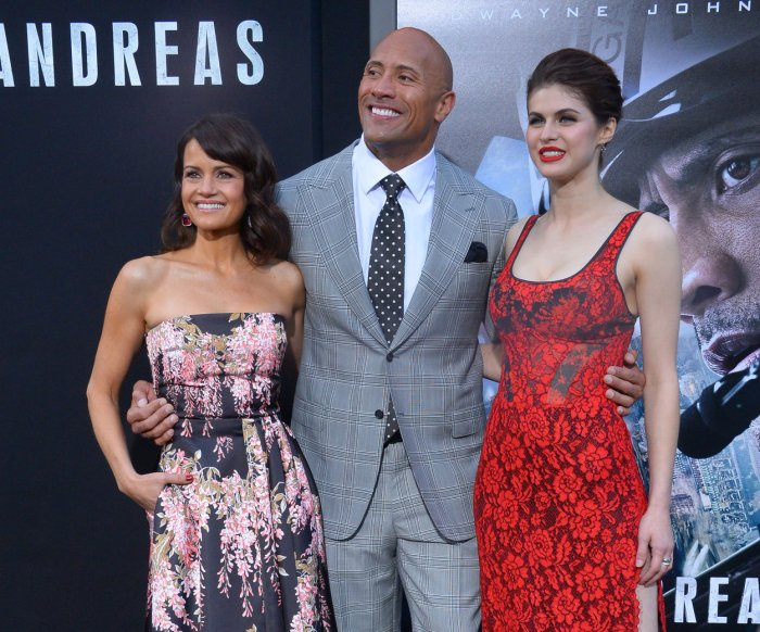 'San Andreas' premiere in Los Angeles
