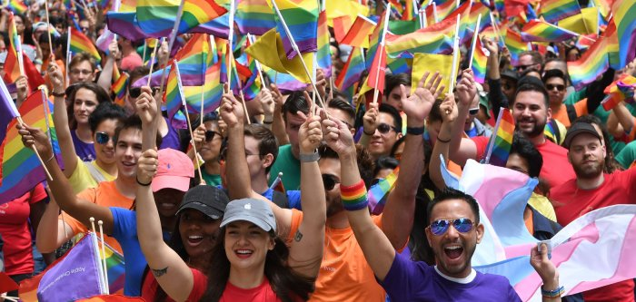 Pride month celebrations in New York and San Francisco