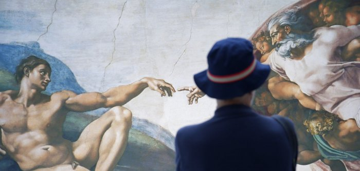 Michelangelo's Sistine Chapel frescoes recreated