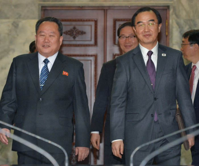 Report: South Korea's unification minister to meet with Pompeo