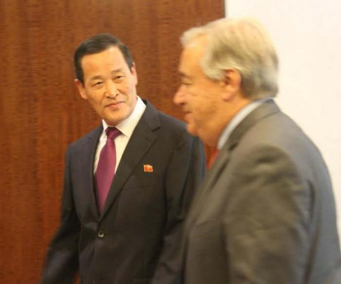 North Korea U.N. envoy slams U.S. for seized ship: 'extreme hostile policy'