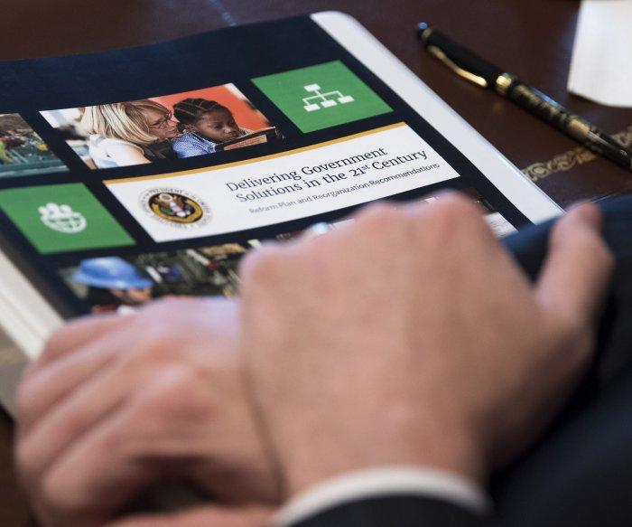 White House announces major government overhaul