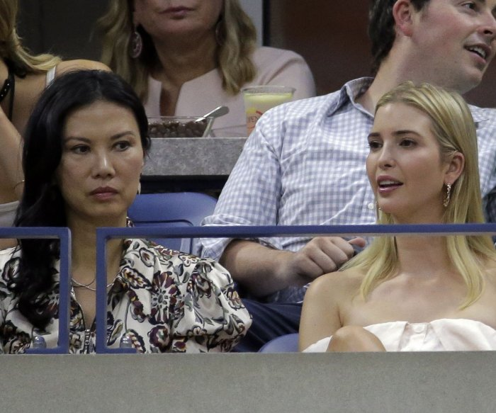 Celebrities at the 2016 US Open