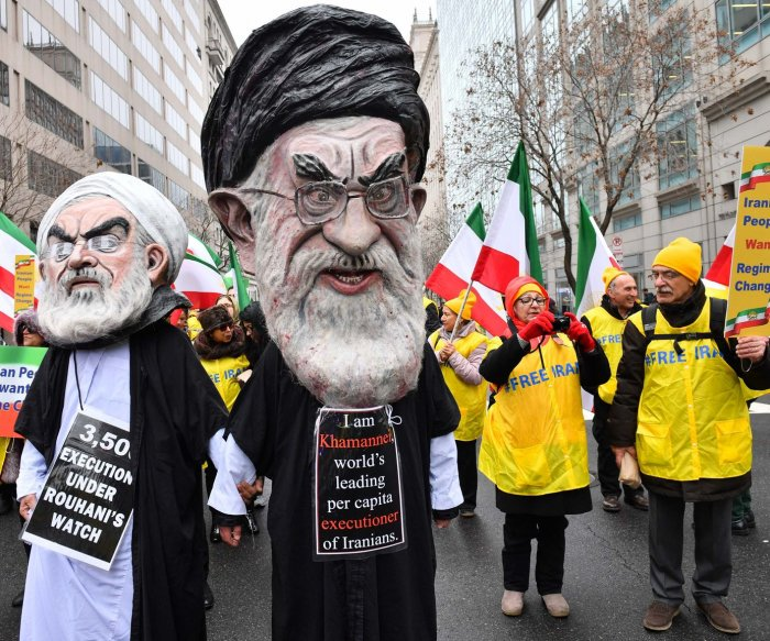 Iranian violence, threats don't deter EU's appeasers