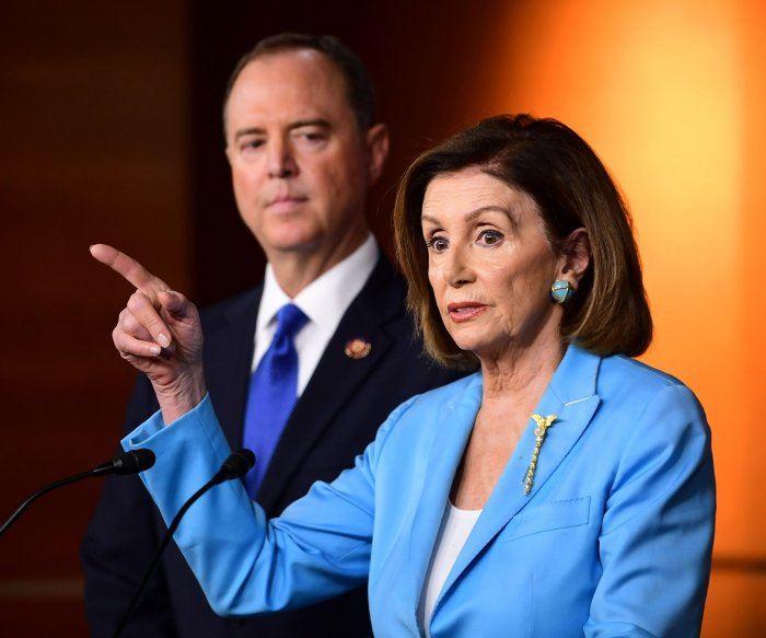 Pelosi: House will not vote on impeachment probe 'at this time'
