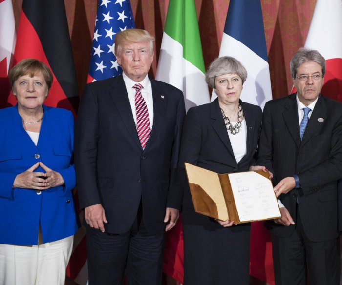 G7 leaders sign agreement against Internet terrorism
