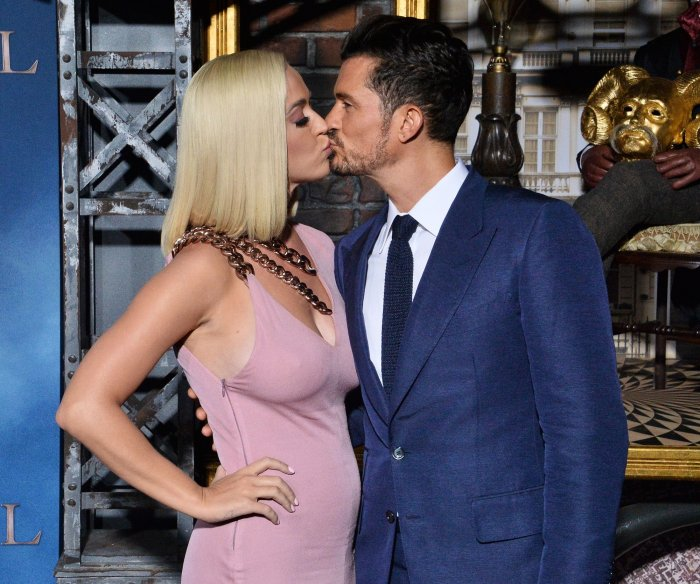 Orlando Bloom, Katy Perry attend 'Carnival Row' premiere