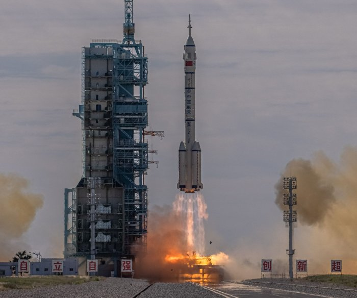 China successfully launches Shenzhou-12 manned crew into orbit
