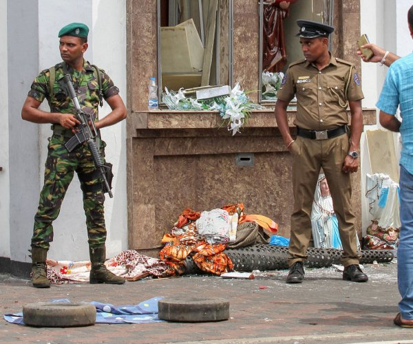 Sri Lanka says bombs were revenge for mosque attacks; IS claims credit