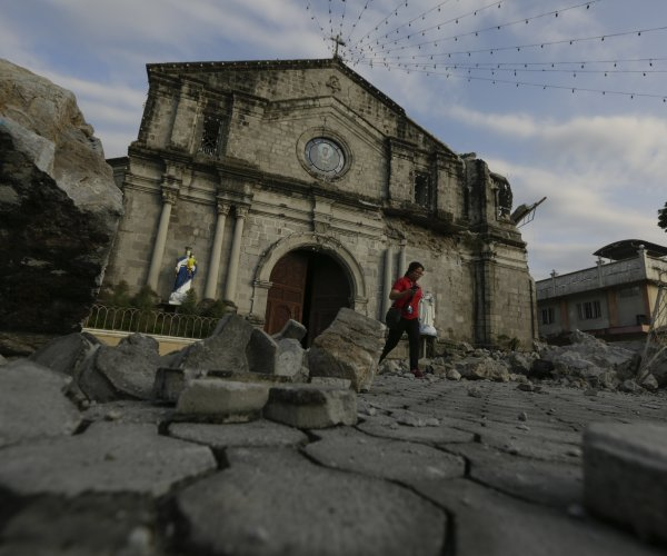 At least 11 dead after another major quake in Philippines