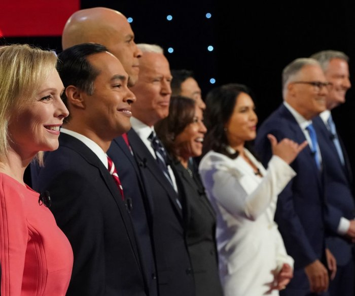 A dozen Democrats set to take the stage at 4th primary debate