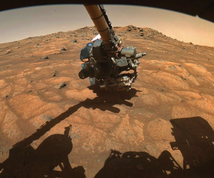 Mars rock drilling begins after NASA's helicopter helps plan rover's route