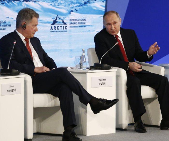 Putin wants to meet Trump before July's G20 summit