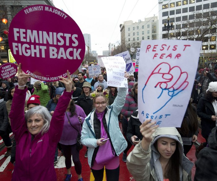Merriam-Webster names 'feminism' 2017 Word of the Year